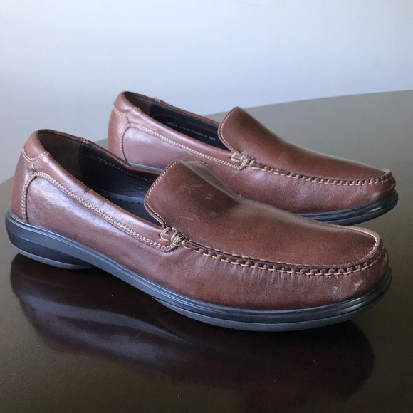 c9ab6eb01b1 Cole Haan Brown 11.5M Santa Barbara Penny Loafers